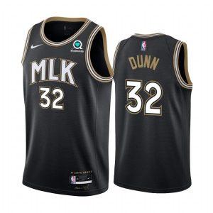 kris dunn hawks black city edition 2020 21 jersey