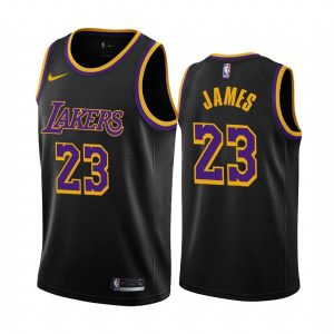 lebron james lakers 2020 21 earned edition black jersey