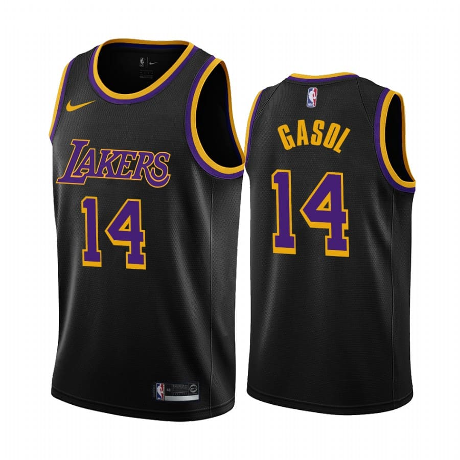 marc gasol lakers 2020 21 earned edition black jersey