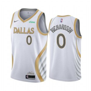 mavericks josh richardson white city edition swingman jersey 1