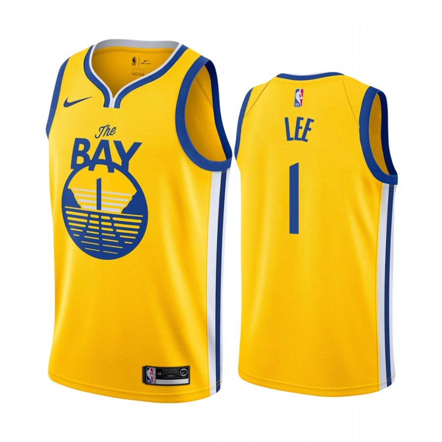 mens damion lee gold statement jersey