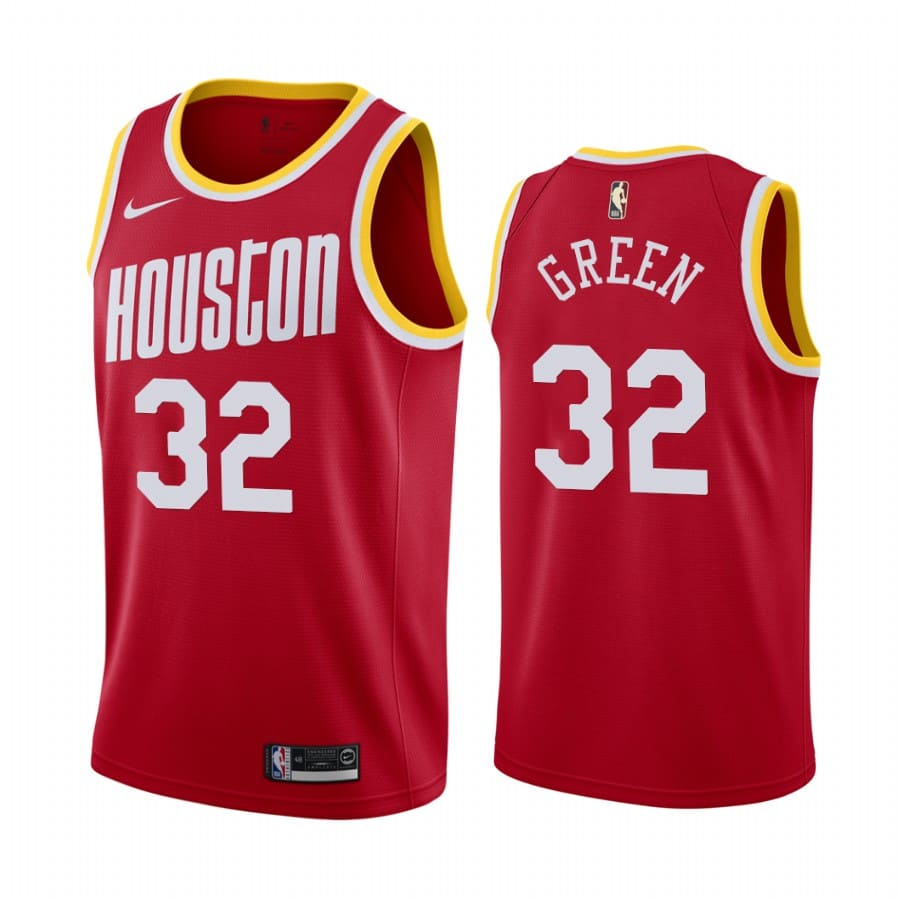 mens jeff green red classic jersey