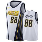 mens pacers goga bitadze white earned jersey