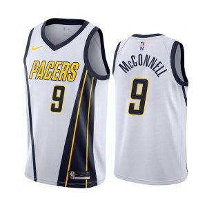 mens pacers t.j. mcconnell white earned jersey