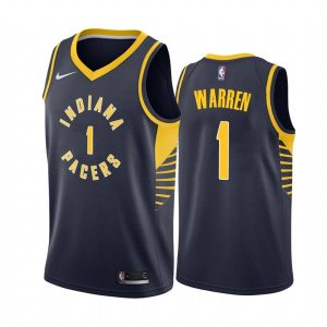 mens pacers t.j. warren navy icon jersey