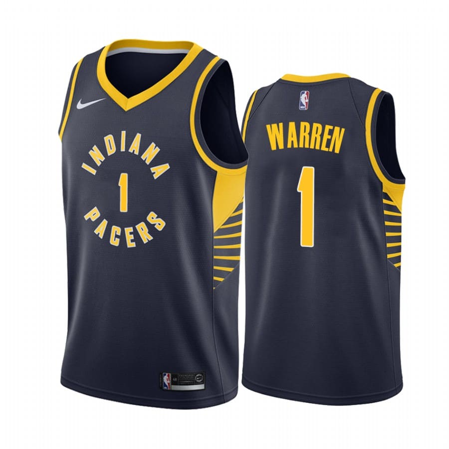 mens pacers t.j. warren navy icon jersey