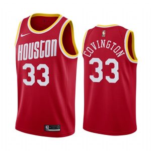 mens robert covington red classic jersey