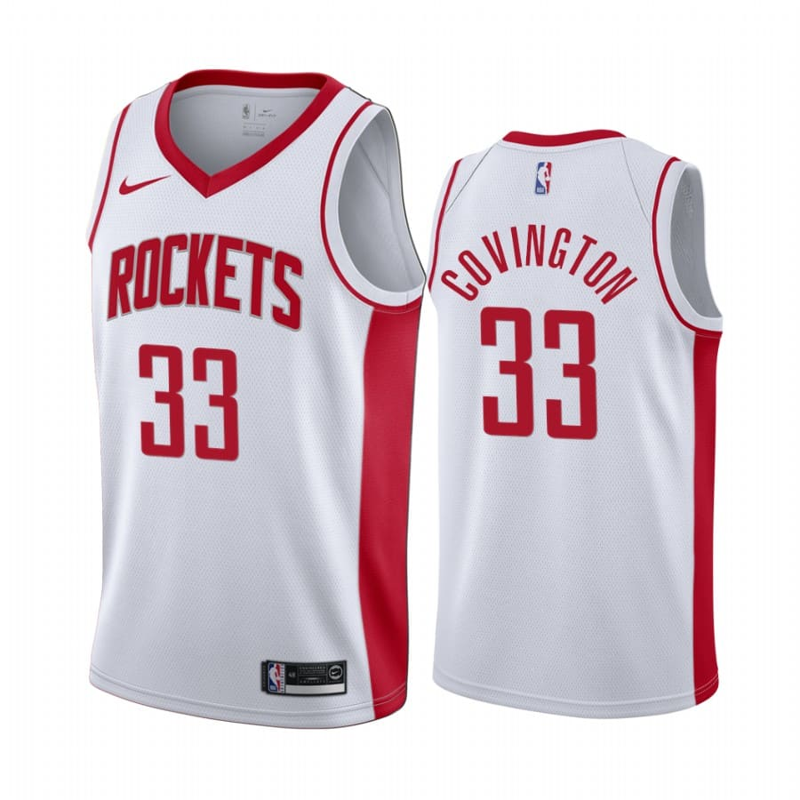 mens robert covington white association jersey