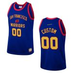 mens san francisco warriors custom team heritage jersey royal