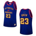 mens san francisco warriors draymond green team heritage jersey royal