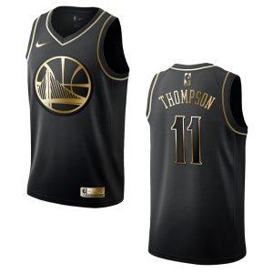 mens warriors klay thompson golden edition jersey black