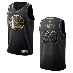 mens warriors stephen curry golden edition jersey black