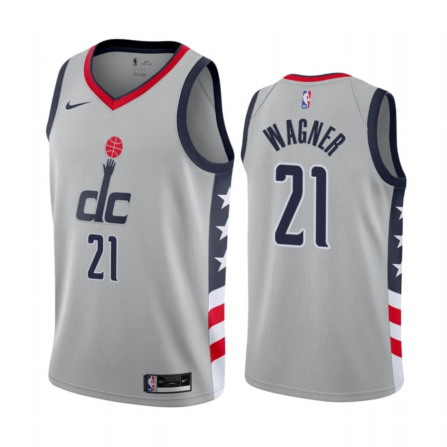 moritz wagner wizards gray city edition 2020 21 jersey