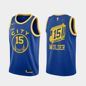 mychal mulder warriors 2020 21 royal classic edition jersey