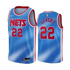 nets caris levert blue classic edition new uniform jersey