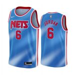 nets deandre jordan blue classic edition new uniform jersey