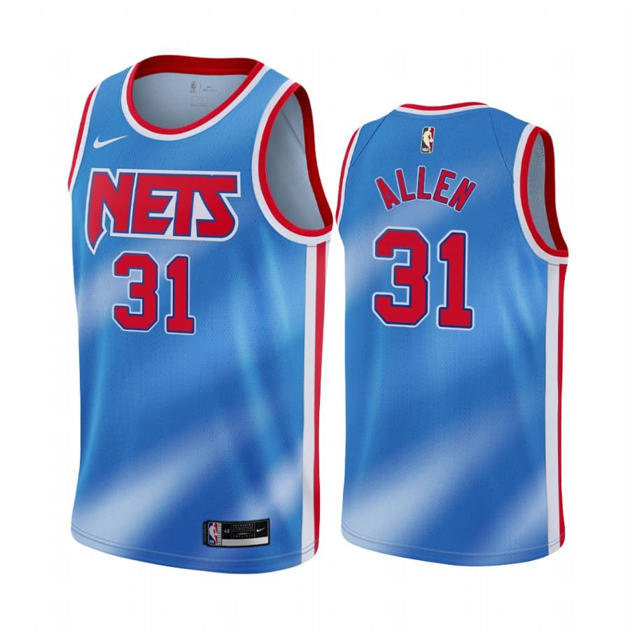 nets jarrett allen blue classic edition new uniform jersey