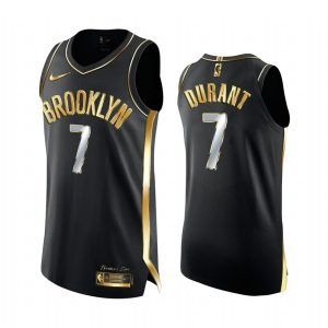 nets kevin durant black golden edition 2020 21 jersey