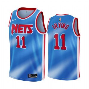 nets kyrie irving blue classic edition tie dye jersey