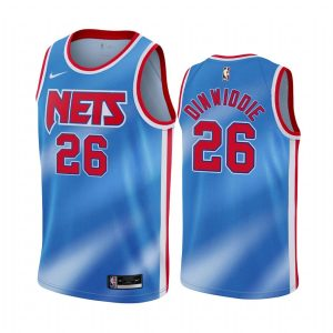 nets spencer dinwiddie blue classic edition new uniform jersey