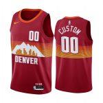nuggets custom orange city edition new uniform jersey 1