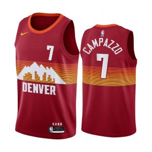 nuggets facundo campazzo orange city edition 2020 trade jersey 2