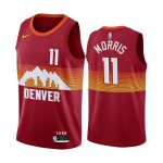 nuggets monte morris orange city edition new uniform jersey 1