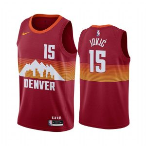 nuggets nikola jokic orange city edition new uniform jersey 1