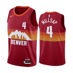 nuggets paul millsap orange city edition new uniform jersey 1