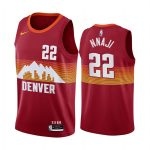 nuggets zeke nnaji orange city edition 2020 nba draft jersey 1