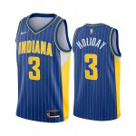 pacers aaron holiday blue city edition new uniform jersey