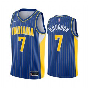 pacers malcolm brogdon blue city edition new uniform jersey
