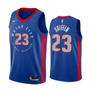 pistons blake griffin navy motor city edition jersey