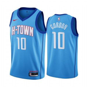 rockets eric gordon blue city h town jersey
