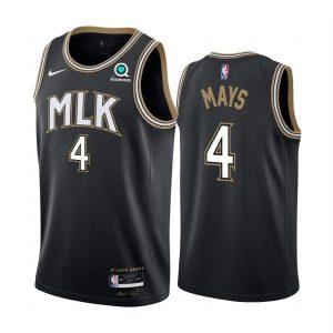 skylar mays hawks black city edition 2020 21 jersey