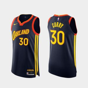 stephen curry warriors 2020 21 navy authentic city edition jersey
