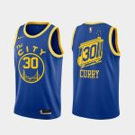 stephen curry warriors 2020 21 royal classic edition jersey