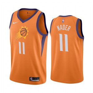suns abdel nader orange statement edition 2020 trade jersey