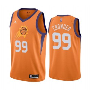 suns jae crowder orange statement 2020 trade jersey