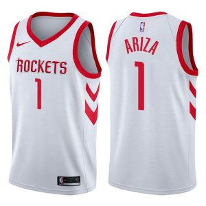trevor ariza mens white rockets nba 2017 18 association jersey