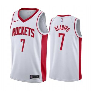 victor oladipo rockets 2021 association edition white jersey