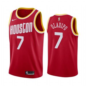victor oladipo rockets 2021 classic edition red jersey