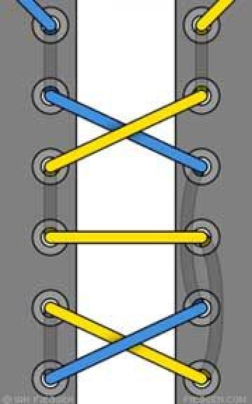 10 sposobov krasivo zashnurovat krossovki 2