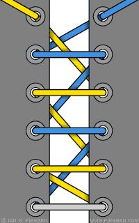 10 sposobov krasivo zashnurovat krossovki 4