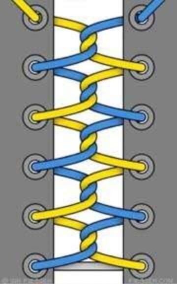 10 sposobov krasivo zashnurovat krossovki