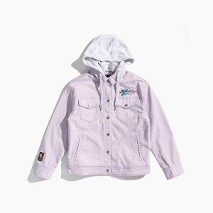 2020 Atlanta Hawks Pink Womens Jacket 1
