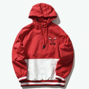 2020 Chicago Bulls Mens Anorak 1