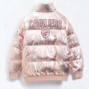 2020 Cleveland Cavaliers Down Jacket Womens 2