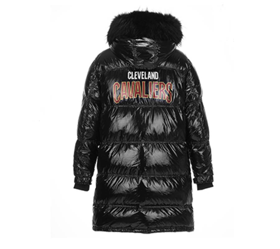 2020 Cleveland Cavaliers down jacket 2