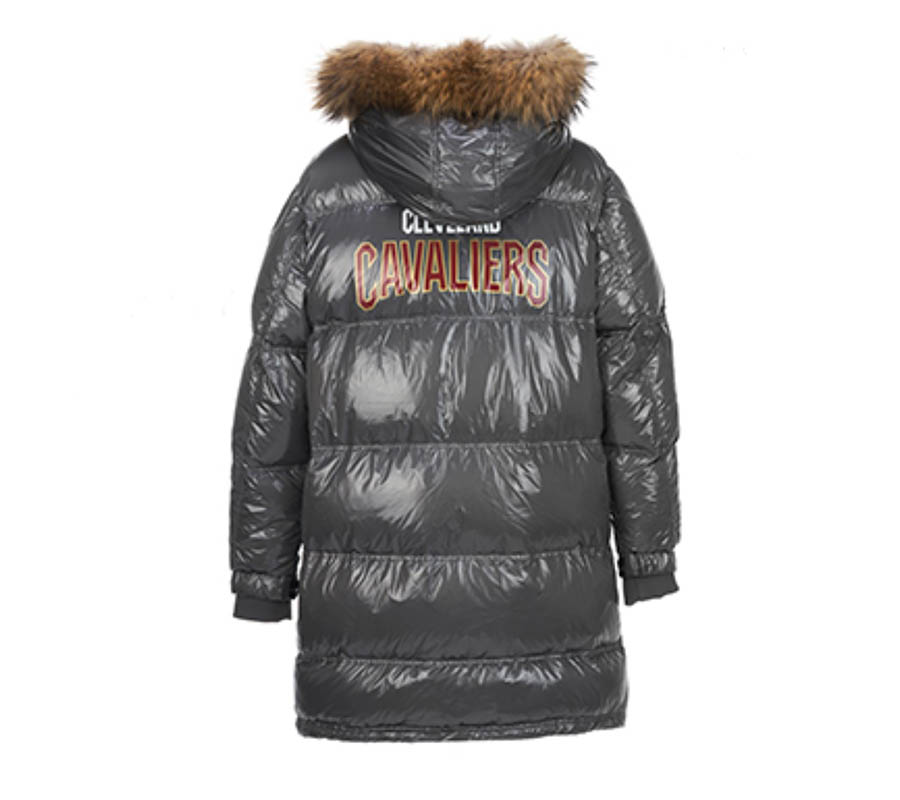 2020 Cleveland Cavaliers down jacket 4